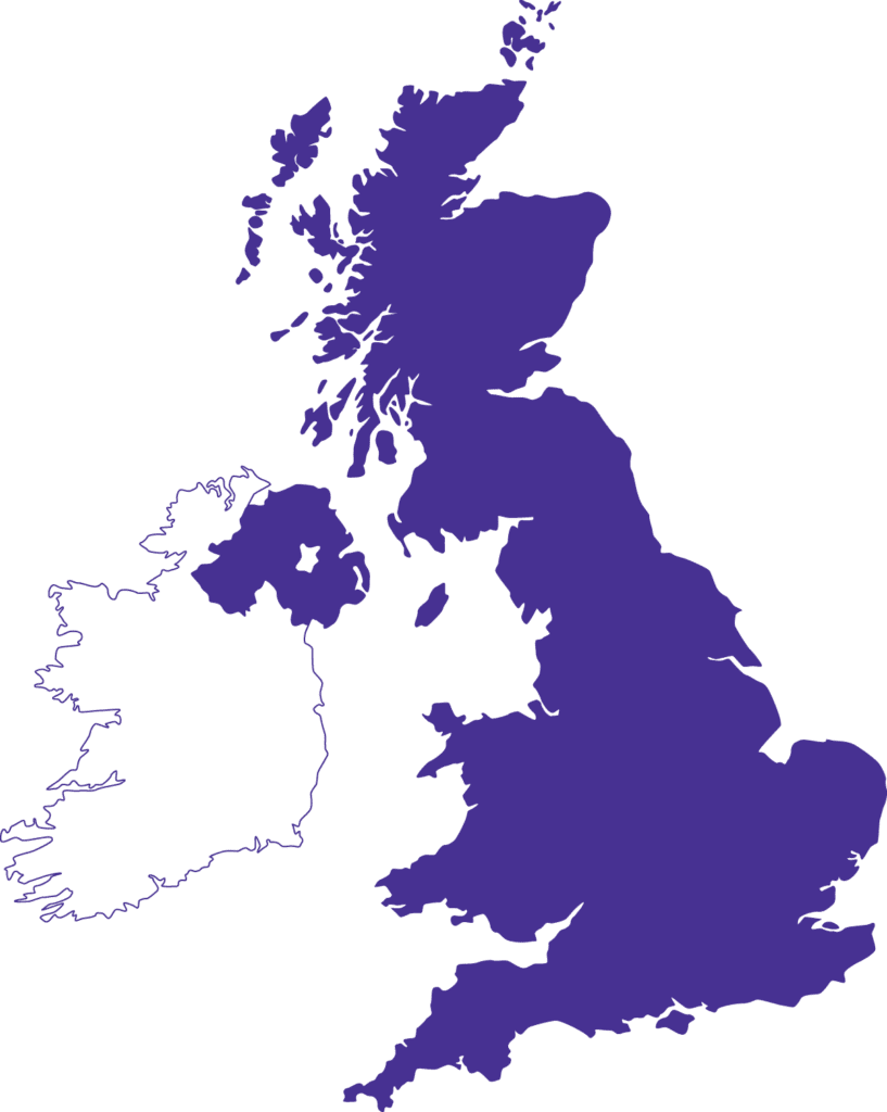 Faster Britain Location Map